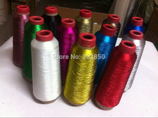 Embroidery Sewing Machine Thread,DIY Hand Sewing Thread,Gold And Silver Thread,Also For Cross Stitch,1Pc/Lot,High Quality!