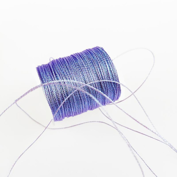 Sanbest 188 Mermaid 6 Plies Metallic Weaving Thread 500m Handmade Bracelet String Stitch Tatting Weave Yarns High Quality