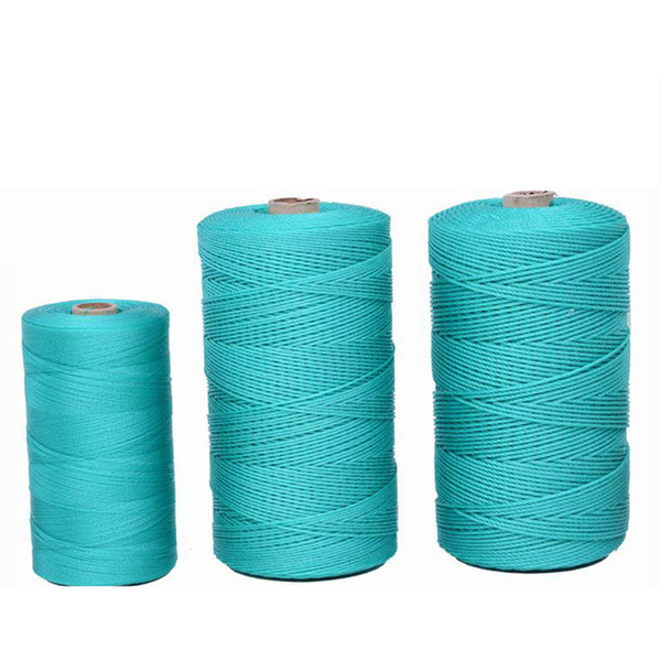 Rope tied rope nylon wear-resistant clothes drying green polyethylene plastic Cord thickness string
