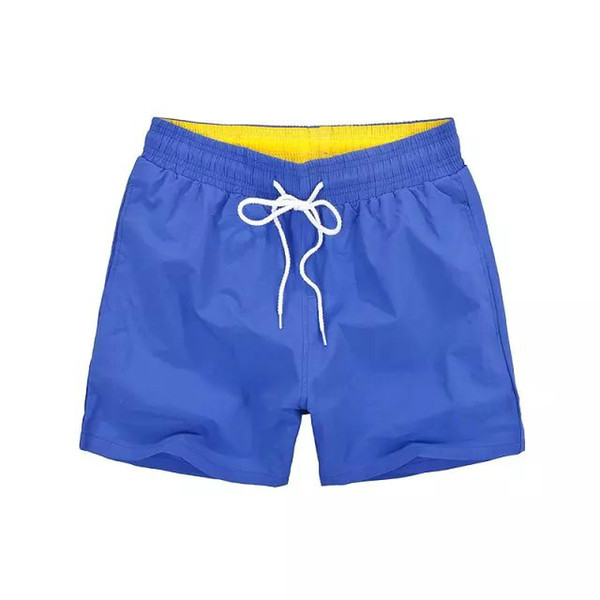 New Mens Shorts Casual Solid Color Board Shorts Men Summer style Beach Swimming Short Men Sport Shorts