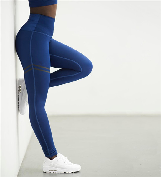 2018 Women Sport Pants Sexy Push Up Gym Sport Leggings Women Running Tights Skinny Joggers Pants Compression Gym Pants