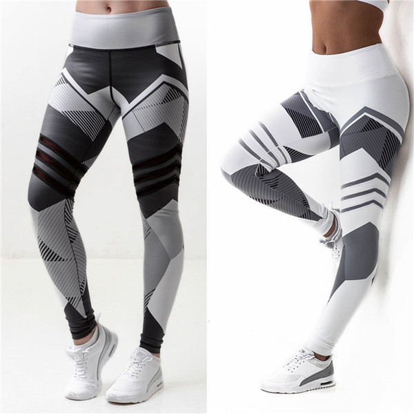 Yoga Pants S-XXXL Plus Size Leggings Women Sport Pants Running Jogging Fitness Yoga Leggings Fitness High Elastic Gym Leggings
