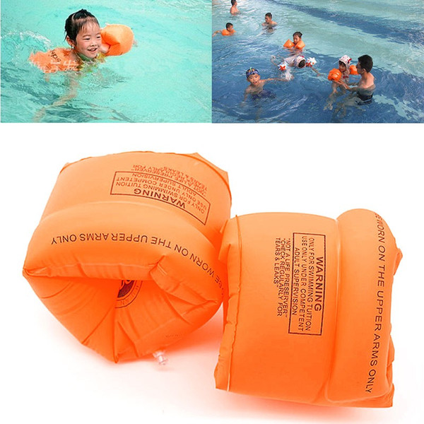 2pair/lot Swimming Band Arm Ring Floating Inflatable Sleeves For Adult Child