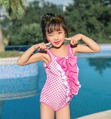 2019 Children One-piece Suits Bikini Set Kids Baby Girls Bowknot Lovely Princess Swimwear Swimsuit Bathing Suit Costume Clothing