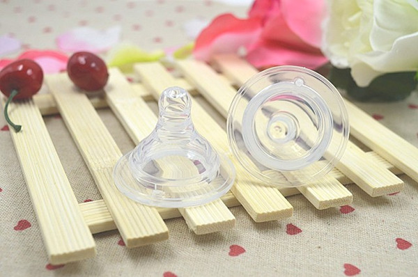 Baby Bottle Silicone Pacifier Teething Feeding Drinking Rubber Nipper Pacifiers Nipple Silica gel Funny Baby Care