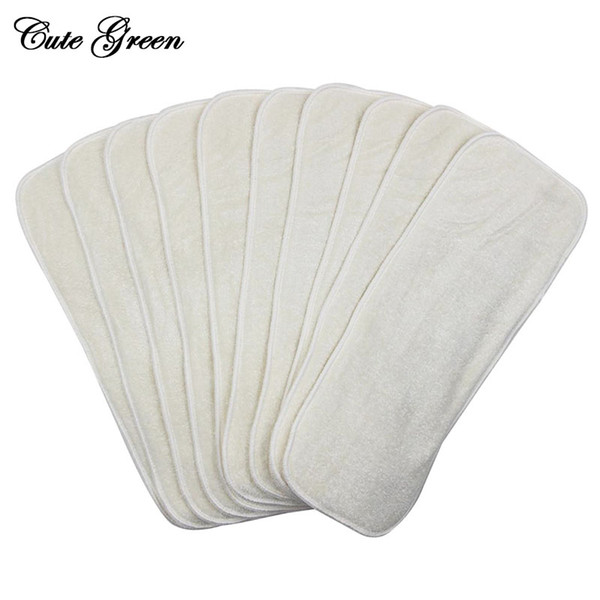 Reusable Washable Inserts Boosters Liners For Pocket Cloth Nappy Diaper Changing Pad Microfibre Cloth Baby Diaper Insert Bamboo