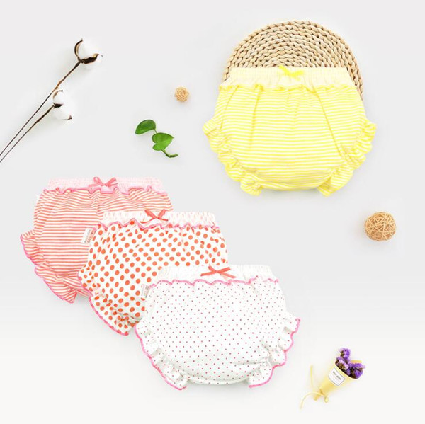 Cute Baby Summer Panties Diapers Reusable Nappies Cloth Diaper Washable Infants Children Baby Cotton Training Pants Panties Nappy Changing