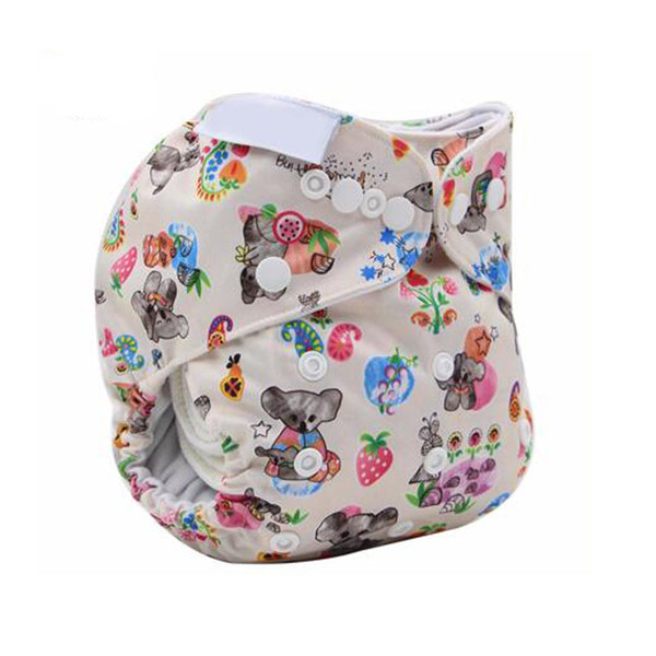 New Reusable baby diapers Infant Nappy for boys and girls Wizard Cloth Diapers Cover Washable Free Size Adjustable