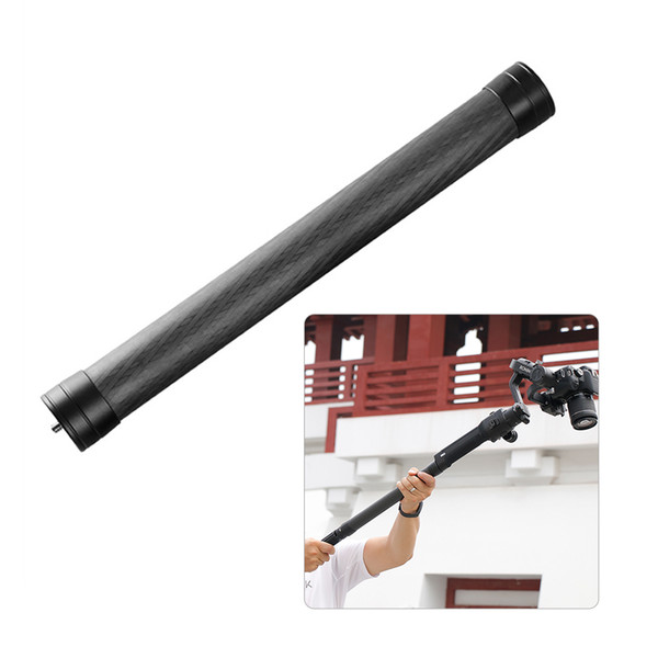 Professional Stabilizer Extension Pole Stick Rod Monopod Carbon Fiber with 1/4