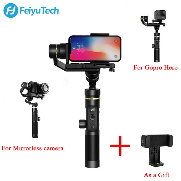 FeiyuTech Feiyu G6 Plus Splash Proof Handheld Gimbal Stabilizer For hero Mirrorless camera For zhiyun craneDJI