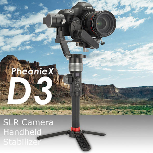 D3 SLR camera Handheld Stabilizer 3-axis Gyroscope Camera Electric Anti-shake Gimbal