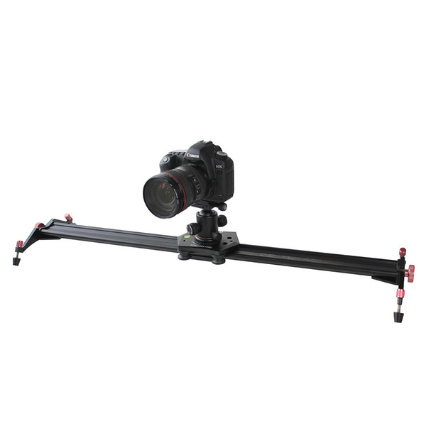 Free Shipping for S3 40 Inch DSLR Camera Slider Dolly Track Video Stabilizer with 22lb/10kg Load Capacity with 4 Damping Adjustable Bearings