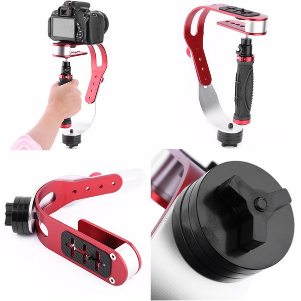 Practical Aluminum Alloy Handheld Camera Stabilizer Rotate 5cm 1.5kg Casual, Party, Hiking, etc 3.2cm Gimbal