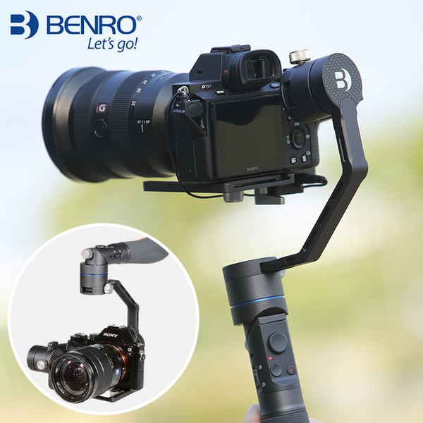 REDDOG R1 Benro 3 Axis Video Stabilizer Gimbal Anti-shake Folding Grip Steadycam for Mirrorless camera PK Zhiyun crane plus