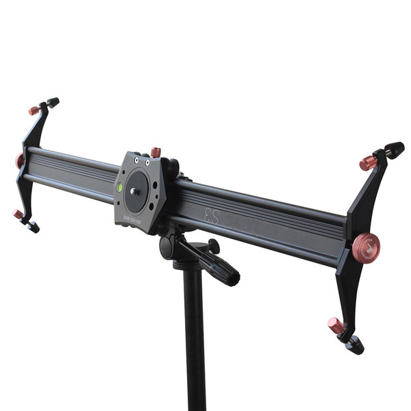 Free Shipping for S3 90cm DSLR Camera Slider Dolly Track Video Stabilizer with 22lb/10kg Load Capacity with 4 Damping Adjustable Bearings