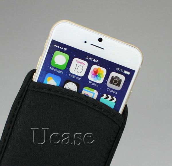 Wholesale 70 Pcs/Lot Elastic Neoprene Protective Pouch Bag Sleeve Cases Covers For iPhone 8/ 7/6 /6S 4.7 inch,