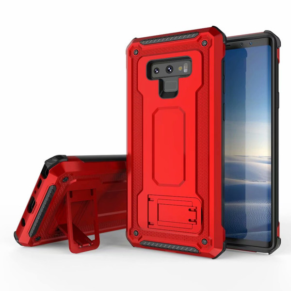 Hybrid Magnetic Kickstand Armor Case For Samsung Galaxy Note 9 S9 S9 Plus Note8 S8 S8+ S10 Plus S10e iPhone XS 8 7