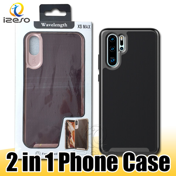 For Samsung Note 10 Note 10 Plus 5G S10e A70 Huawei P30 NOVA 4e Shockproof Hybrid TPU PC Phone Case with Retail Packaging