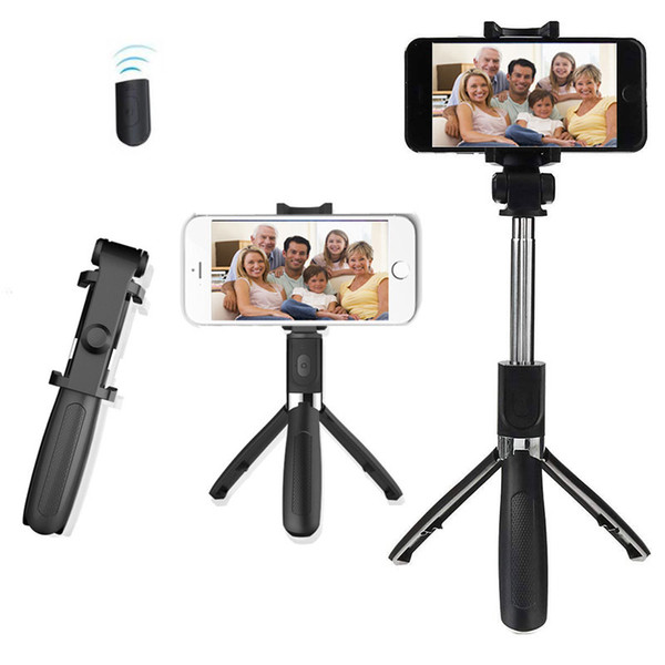 Extendable Selfie Stick Tripod with Wireless Bluetooth Remote Shutter and Monopod Stand for Samsung iPhone X Best Seller