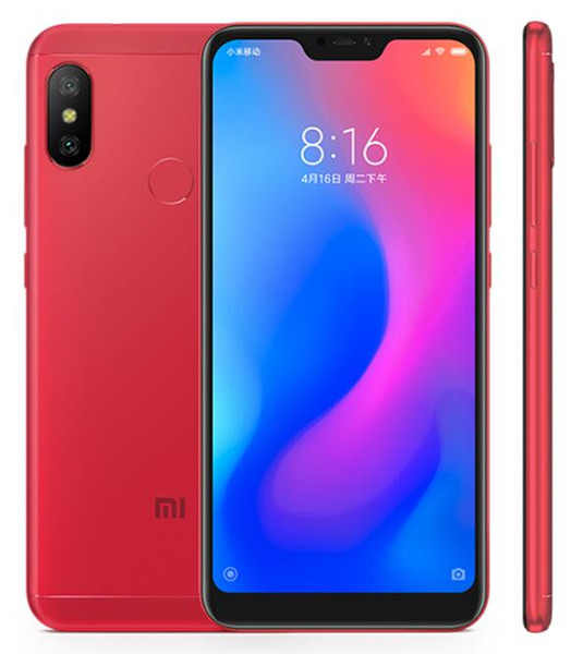 Original Xiaomi Redmi 6 Pro Global Firmware Cell Phone Octa Core 4GB/64GB Dual Rear AI Camera 5.84