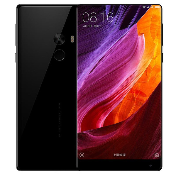 Original Xiaomi Mi MIX Pro 4G LTE Mobile Phone Snapdragon 821 4GB RAM 128GB ROM Edgeless Display Full Ceramics Body 6.4
