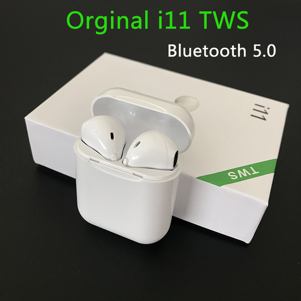 i11 TWS i10 headphones bluetooth headphone Wireless Stereo earbuds tws i11 i12 i7S i9s i10 tws for iphone XS MAX for samsung