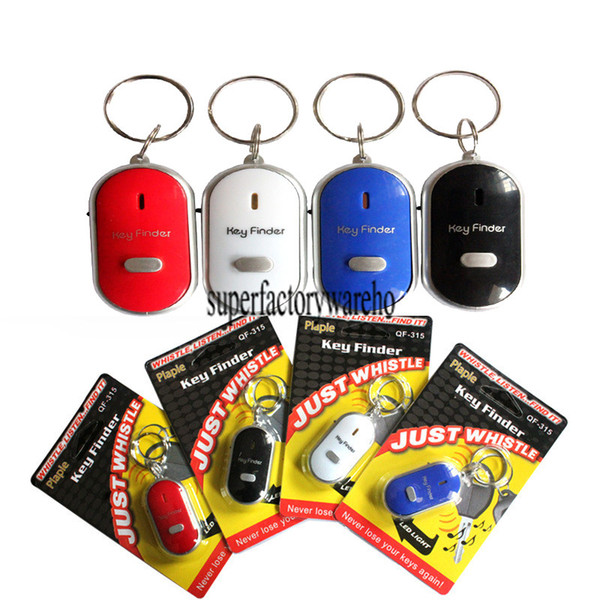 2017 Key Finder Keychain Seeker Whistle Sensitive Anti-lost Old Age Anti-lost Alarm Electronic Gift