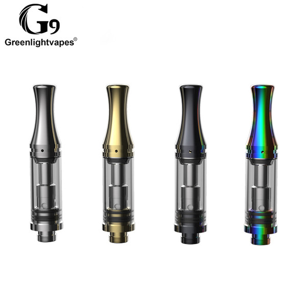 Orignal Greenlightvapes Best Selling Wax Pen Vaporizer No Leak Thick Oil G10 Cartridge With 2.0mm Intake Size And Adjustable Airflow Control