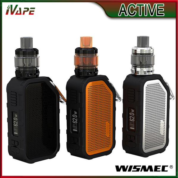 Authentic Wismec Active Kit 80W with Amor NS Plus Tank 4.5ml & ACTIVE Mod Built-in 2100mAh with Bluetooth Speaker Multiple Funtion E-cig
