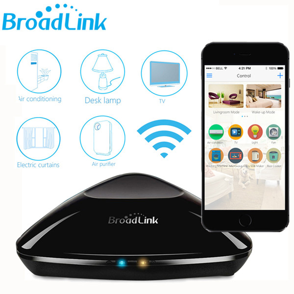 Original Broadlink RM Pro RM2 Universal Smart Controller Smart Home Domotica Automation WIFI+IR+RF Remote Switch VIA IOS Android
