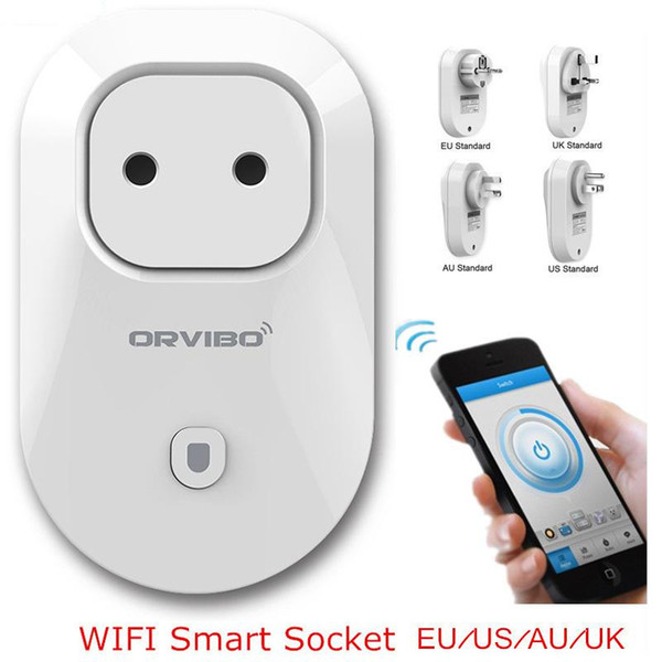 Orvibo S20 EU/AU/UK/US WiFi Smart Switch Intelligent Power Socket For IOS Android Smartphone Remote Control PK Mi Smart Socket