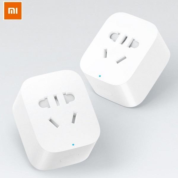 2016 New Original Xiaomi Mi WIFI Smart Socket AU/EU/UK Intelligent Timer Switch Smart Plug VS Orvibo S20 For Android IOS Phones