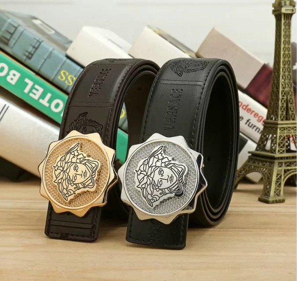 New belts big large buckle belt designer belts high quality luxury belt fashion leather belt genuine leather belts for men and women