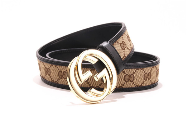 2019 new brand men Belts Young Men Belt Genuine Cowskin Classic Models Leather Male Fashion Buckle Luxury Bussiness Casual