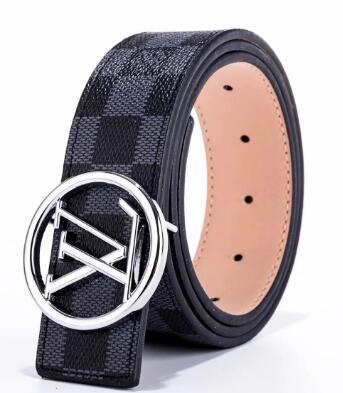 2019 mens women belt for men V buckle belt top fashion mens leather belts belts free shipping