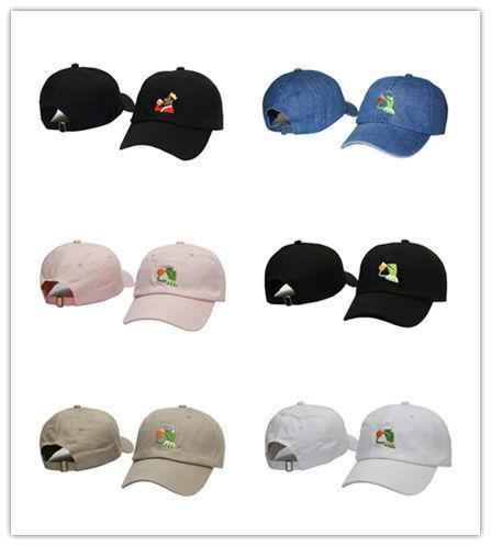 Top Quality Kermit Tea Hat The Frog Sipping Drinking Tea Baseball Dad Visor Cap Emoji New Popular 6 Panel polos caps hats