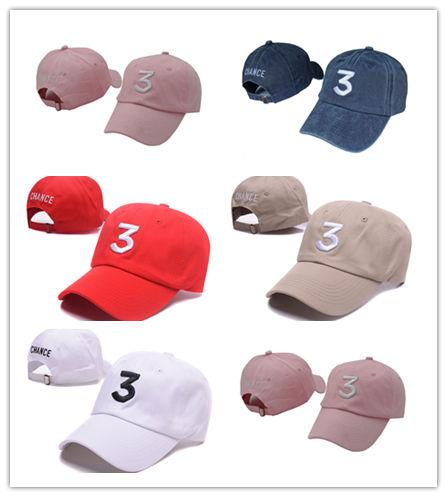 New Design Embroidered chance the rapper chance 3 Hat Black Baseball Cap Fashion kanye west bear dad caps casquette hip hop Strapback