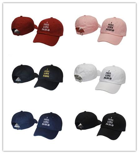 Top Fashion I Feel Like Pablo Hat Cap Unisex Adjustable Fashion Leisure Baseball Hat The Life Of Pablo