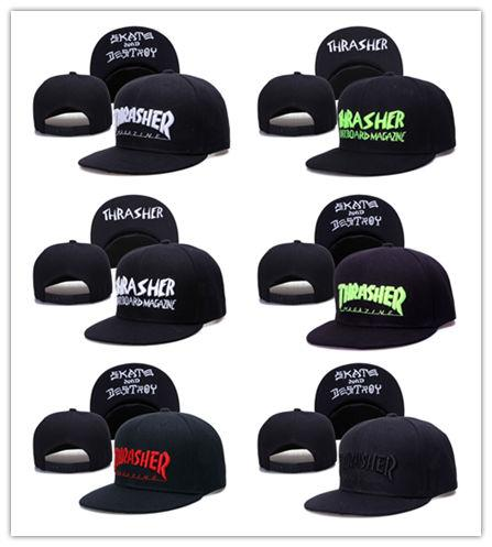 Cheap Hot Free Shipping New Snapback caps Cap punk metal Flame hip hop baseball caps brim retro duck tongue caps for men
