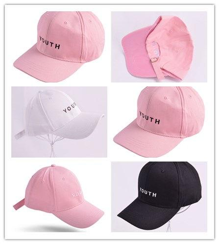 Wholesale Fashion Black Pink White YOUTH Dad Hats For Men Women Baseball Caps Adjustable Palace Deus Cap Ovo Drake Hat Gorras Planas Hip Hop