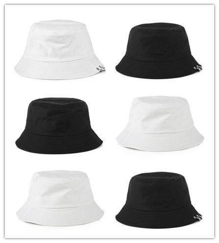 Free Shipping Plain Cotton Bucket Hats For Adults Mens Womens Fishing Caps Blank Summer Beach Fisherman Cap Printing Embroidery Logo