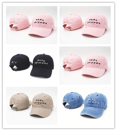 Good Sale Brand Real Friends Hat Trending Rare Baseball Cap I Feel Like Pablo Snapback Cap Kanye Tumblr Hip Hop Dad Hat Men and Women