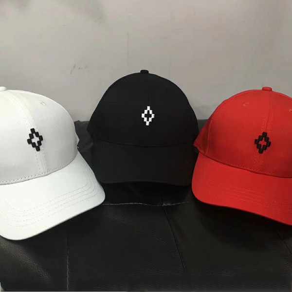 Marcelo Burlon Baseball Cap Snapback Hip Hop Men Women Camping Hunting Outdoor Summer Visor Beach Sun Hats Embroidery Trucker Caps Fashion