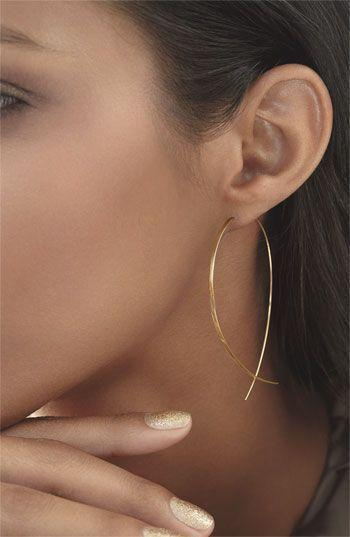 Personality Contracted Tourist Street Snap Fish Copper Earrings Earrings By Hand