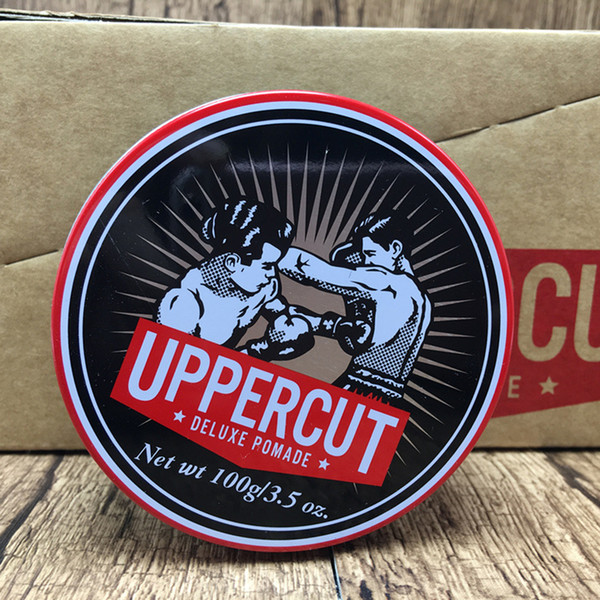 Uppercut Pomades Monster Hold RetroOil Hair Wax Zombie Hair Oil-based Retro Hair Polish Wax Pomades for Women and Men