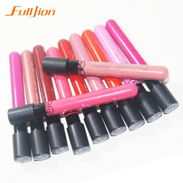 1PCS New 2016 Velvet Matte Cup super sticky liquid lipstick color does not fade the color waterproof Lips Lip Gloss