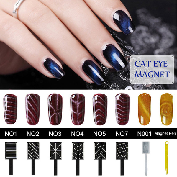 Belen Cat Eye Gel Polish Magnet Sticks for Manicure UV Nail Gel Polish Nail Art Magnet Sticker Nail Magnet For Magnetic Polish