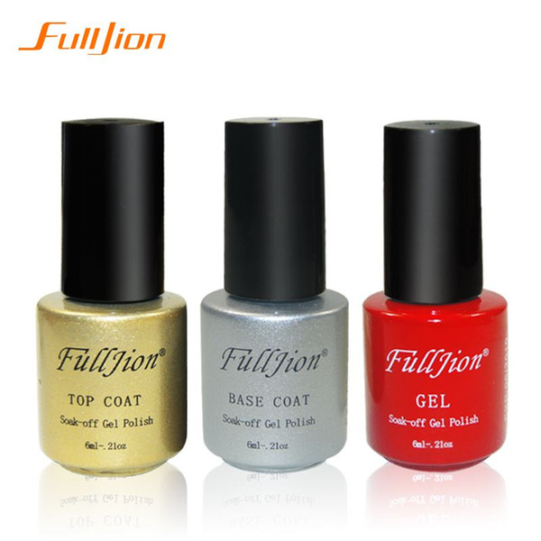 Fulljion Charming Women Sweet Girl Color nail gel polish Long Lasting Manicure Soak-off lacquer Nail Glue Nail Polish finger ink