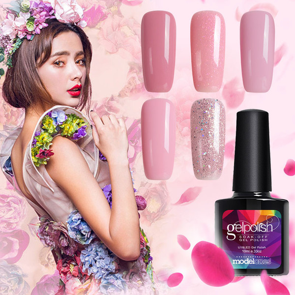 Modelones 10ml Baeuty Sweet Lover Gel Polish Soak Off Nail Gel Polish Shiny Color Nail Gel Choose Any 1 Color Professional