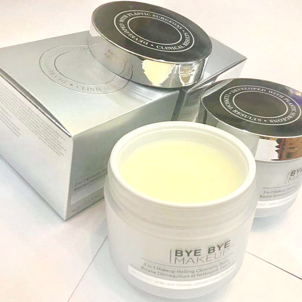 New Makeup Remover bye bye makeup 3-in-1 makeup melting cleansing balm 80g with skin- softening serum concentrate 80g